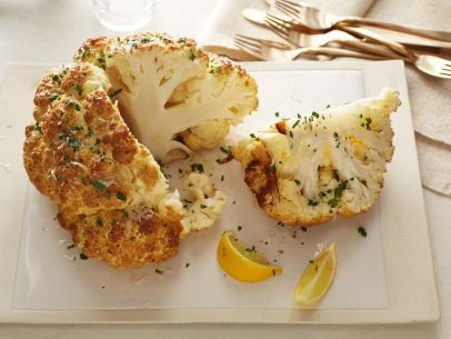 Mustard Whole Roasted Cauliflower